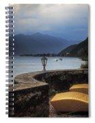 Canvas Chairs Spiral Notebook