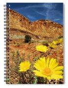 Capitol Flower Garden Spiral Notebook