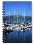Carlingford Yacht Marina, Co Louth Spiral Notebook