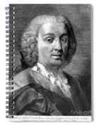 Carlo Goldoni (1707-1793) Spiral Notebook