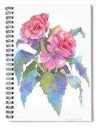 Carmel Begonias Spiral Notebook