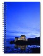Castle In Scotland Spiral Notebook