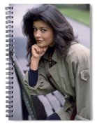 Catherine Zeta-jones Spiral Notebook