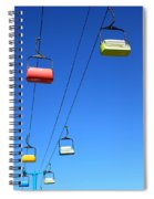 Chairlift Cars Spiral Notebook