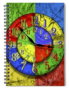 Changing Times Spiral Notebook
