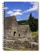 Chapel Of Saint Kevin At Glendalough Spiral Notebook