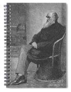 Charles Robert Darwin, English Spiral Notebook