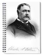 Chester Alan Arthur Spiral Notebook