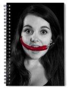 Chillies Spiral Notebook