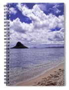Chinaman S Hat From Kualoa Spiral Notebook