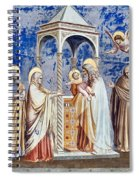 Christ At The Temple Spiral Notebook