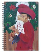 Christmas Lioness Spiral Notebook