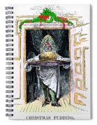 Christmas Pudding, 1882 Spiral Notebook