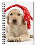 Christmas Puppy Spiral Notebook