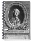 Christoph Willibald Gluck Spiral Notebook