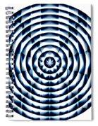 Circle Flower Spiral Notebook