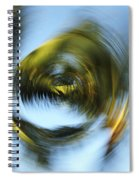 Circular Palm Blur Spiral Notebook