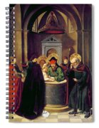 Circumcision Of Christ Spiral Notebook