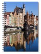 City Of Gdansk Spiral Notebook