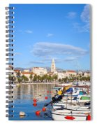City Of Split In Croatia Spiral Notebook