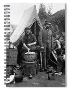 Civil War: Camp Life, 1861 Spiral Notebook