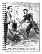 Civil War Cartoon Spiral Notebook