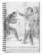 Civil War: Copperhead, 1863 Spiral Notebook