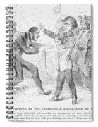 Civil War: Copperhead, 1863 Spiral Notebook