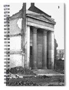 Civil War: Fall Of Richmond Spiral Notebook