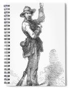 Civil War Guerilla Spiral Notebook