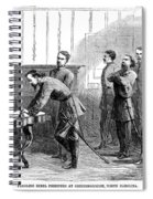 Civil War: Parole, 1865 Spiral Notebook