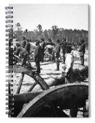 Civil War: Union Artillery Spiral Notebook