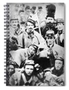 Civil War Volunteers 1861 Spiral Notebook