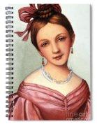 Clara Schumann (1819-1896) Spiral Notebook
