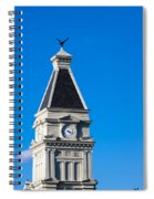 Clarksville Historic Courthouse Tower Spiral Notebook