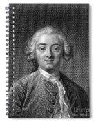Claude Adrien Helvetius Spiral Notebook
