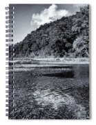 Cloud Over The River Spiral Notebook