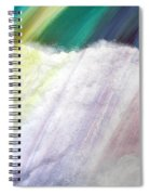 Cloud Within Rainbow Spiral Notebook