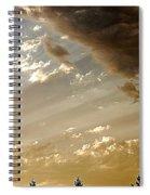 Clouds Of A Storm Spiral Notebook