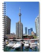 Cn Tower Spiral Notebook