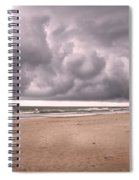 Coastal Storm Spiral Notebook