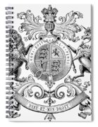 Coat Of Arms: Great Britain Spiral Notebook