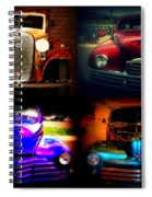 Collector Cars Spiral Notebook