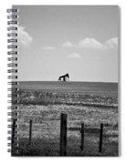 Colorado Crude - Bw Spiral Notebook