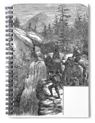 Colorado: Pikes Peak, 1867 Spiral Notebook