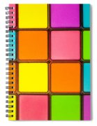 Colorful Background Spiral Notebook