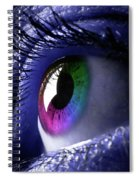Colorful Eye Spiral Notebook