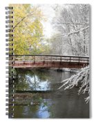 Composite Of Fall And Winter Spiral Notebook