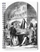 Congress Of Utrecht, 1713 Spiral Notebook
