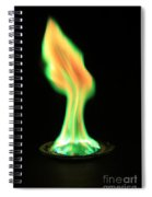Copperii Chloride Flame Test Spiral Notebook